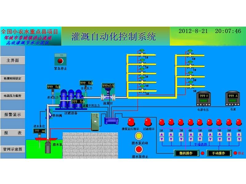 灌溉自动化控制LOVEBET爱博体育官网